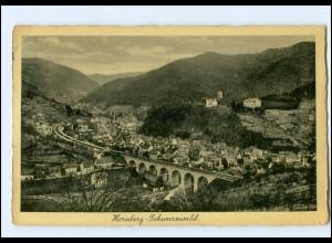 Y13912/ Hornberg Schwarzwald 1941 AK