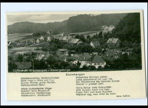 Y13902/ Steinbergen im Wesergebirge AK