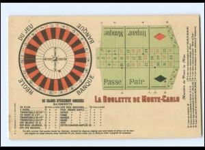 Y13540/ Monte Carlo Roulette Spielcasino AK 1912