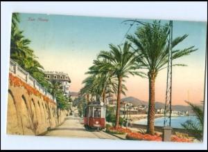 Y13764/ Italien San Remo Straßenbahn 1926 AK