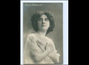 Y13603/ Gudrun Hildebrandt Schauspielerin Foto AK 1911