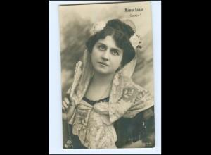 "Y13542/ Maria Labia ""Carmen"" italienische Opernsängerin Foto AK 1908"