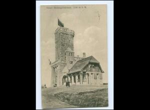Y13541/ Hornisgrindeturm bei Seebach AK 1912