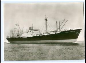 Y13526/ Handelsschiff Frachter MS Brandenstein Nordd. Lloyd AK