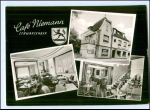 Y13878/ Schwarzenbek Café Niemann AK
