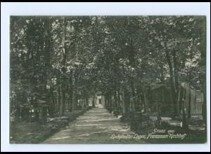 Y13784/ Lockstedter Lager Franzosen-Kirchhof AK 1910 Truppenübungsplatz