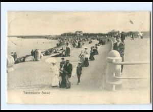 U8634/ Travemünde Strand 1909 AK