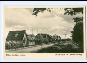 U8484/St. Peter-Ording Ordinger Häuser am Wald 1936 Foto AK