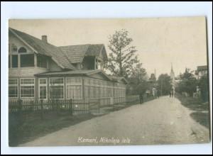 U8403/ Kemeri Nikolaja iela Foto AK Lettland ca.1930