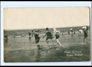 U8691/ Riga Jürmala Strand Foto AK 1926