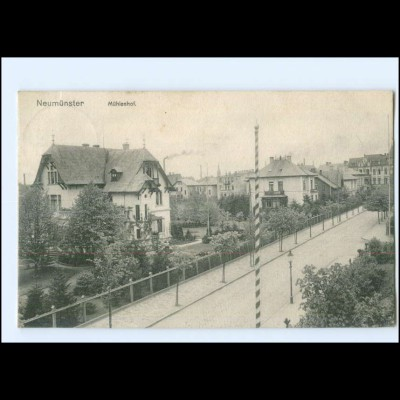 U8651/ Neumünster Mühlenhof 1911 AK