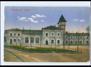 Y14318/ Saargemünd Sarregueminois Bahnhof AK 1915