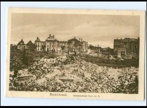 U8455/ Brest-Litowsk Kobrynerstraße Weißrussland AK 1917