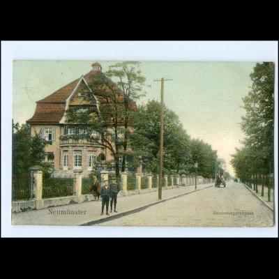 U8646/ Neumünster Rendsburgerstraße 1909 AK