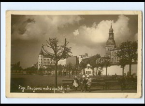 U8726/ Riga Lettland Foto AK 1933