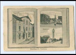 U8359/ Hamburg Moorburg bei Harburg Kirchdorf Geschäftshaus Müller AK 1924