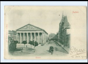 U8573/ Aachen Theater 1904 AK