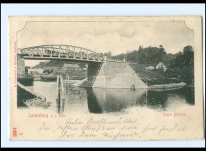 U8632/ Lauenburg Neue Brücke 1903 AK