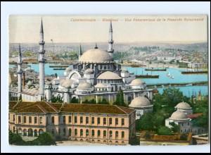 Y14094/ Constantinople Stamboul Türkei AK gelaufen!