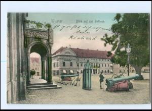 U8360/ Wismar Blick auf das Rathaus AK 1910