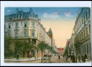 U8431/ Lemberg Lwow 3. Maigasse Ukraine AK 1916