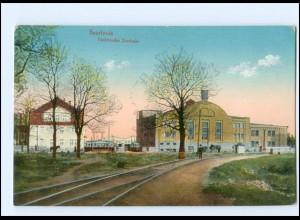 U8574-6630/ Saarlouis Elektrische Zentrale 1918 AK