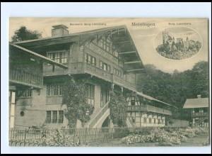 U8586-986./ Meiningen Burg Landsberg 1911 AK