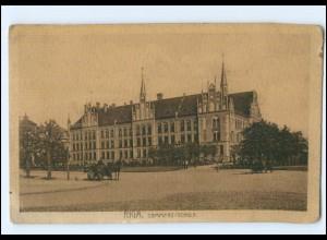 U8732/ Riga Commerz-Schule AK 1915 Lettland