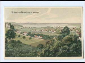 U8863-8036/ Herrsching am Ammersee AK 1914