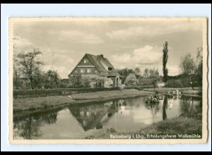 U8638/ Ratzeburg Erholungsheim Walkmühle 1939 Foto AK
