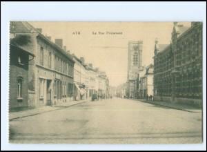 Y14047/ Ath - La Rue Pintamont Belgien AK 1915