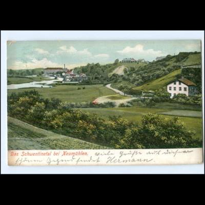 Y14045/ Schwentinetal bei Neumühlen AK 1907