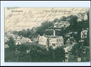 U8546/ Hamburg Blankenese Blick von der Hauptstraße 1908 AK