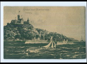 U8549/ Hamburg Blankenese Süllberg 1920 AK