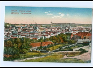 Y13810/ Lemberg Lwow Ukraine AK 1917