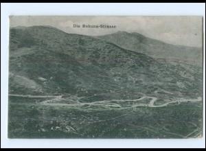 U8478/ Die Babuna-Straße Mazedonien AK 1918