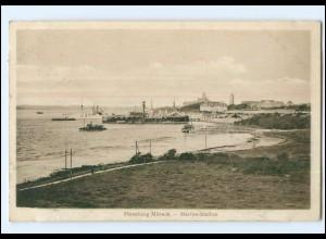 Y13804/ Flensburg-Mürwik Marine Station AK 1912