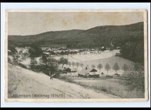 Y14162/ Lascemborn Weltkrieg 1914/15 AK Frankreich