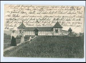 U8494/ Ratzeburg Badeanstalt 1917 AK