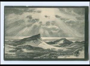 Y14161/ Nordseeinsel Amrum Künstler AK. M. Weidemann 1914