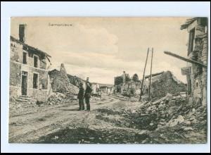 U8759/ Samonieux 1. Weltkrieg AK Frankreich 1916