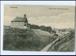 U8499/ Ratzeburg Partie beim neuen Krankenhaus 1916 AK