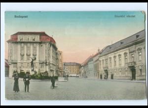Y13959/ Budapest Dizteri Reszlet Ungarn AK 1917