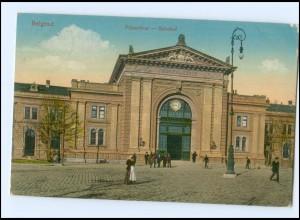 U8833/ Belgrad Palyaudvar - Bahnhof AK Serbien 1917