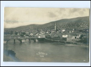 U8508/ Serbien Veles 1917 Foto AK