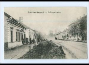 U8714/ Batcsrol - Szechenyi-utca Ungarn AK 1917