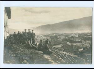 U8751/ Üsküb Skopje Foto AK 1916 Soldaten Mazedonien