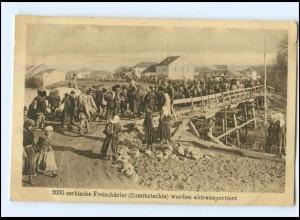 U8839/ 2000 serbische Freischärler Comitatschis AK 1917 Serbien