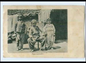 Y14297/ Balkan Zigeunerkinder Sinti 1. Weltkrieg AK 1917