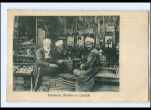 U8770/ Händler aus der Türkei in Üsküb Mazedonien AK 1917